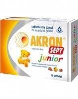 Akron sept junior x 18 tabl do ssania