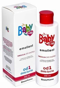 Babycap emolient emulsja do kąpieli 200 ml