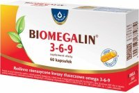Biomegalin 3-6-9 500 mg x 60 kaps