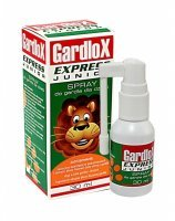 Gardlox express junior spray do gardła 30 ml