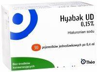 Hyabak UD krople do oczu 0,15% 0,4 ml x 30 minimsów