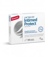 Lactacyd intimed protect x 10 kaps doustnych
