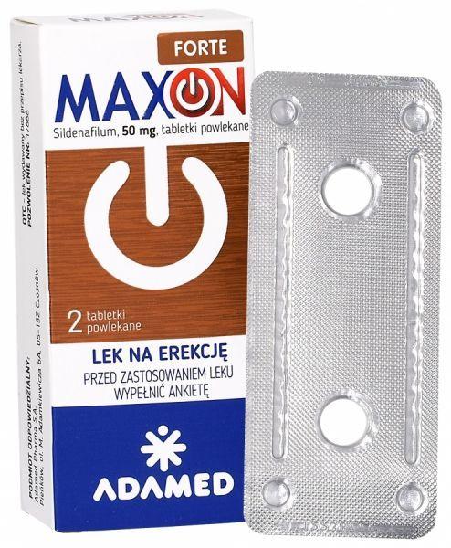 maxon lek na erekcje