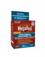 MegaRed Extra Strong omega-3 krill oil x 20 kaps