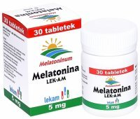 Melatonina 5 mg x 30 tabl