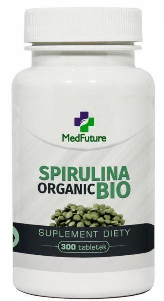 Spirulina organic bio x 300 tabl medfuture apteka for Spirulina w tabletkach