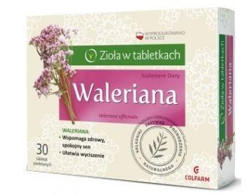 Waleriana X 30 Tabl Colfarm Apteka Internetowa Tanie Leczenie