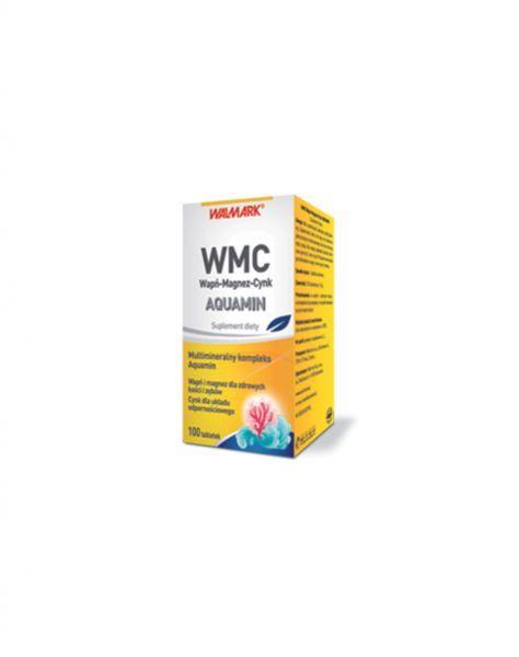 Wmc wap magnez cynk aquamin x 100 tabl apteka for Magnez w tabletkach