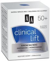 AA Clinical Lift 50+ krem na noc 50 ml