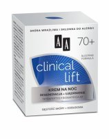 AA Clinical Lift 70+ krem na noc 50 ml