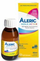 Aleric Deslo Active 0,5 mg/ml roztwór 60 ml