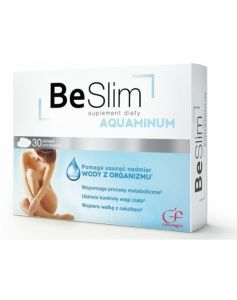 Be slim aquaminum x 30 tabl