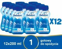 Bebilon 1 z Pronutra Advance 200 ml x 12 szt