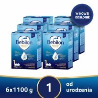 Bebilon 1 z Pronutra Advance w sześciopaku - 6 x 1100 g