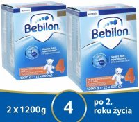 Bebilon junior 4 Pronutra ADVANCE w dwupaku 2 x 1200 g