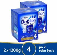 Bebilon junior 4 z pronutra+ w dwupaku - 2 x 1200 g