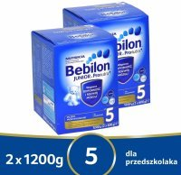 Bebilon junior 5 z pronutra+ w dwupaku - 2 x 1200 g