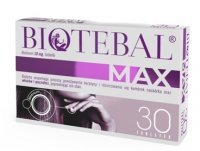 Biotebal max 10 mg x 30 tabl