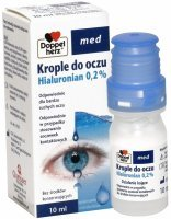 Doppel herz med krople do oczu Hialuronian 0,2% 10 ml