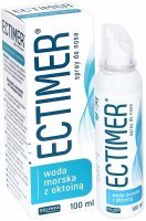 Ectimer woda morska z ektoiną spray do nosa 100 ml
