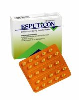 Esputicon 50 mg x 100 kaps