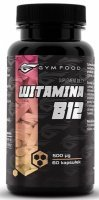 GymFood Witamina B12 x 60 kaps