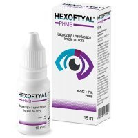 Hexoftyal PHMB  krople do oczu 15 ml