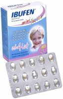 Ibufen mini junior 100 mg x 15 kaps