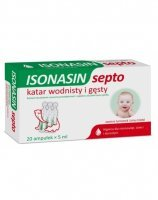 Isonasin septo roztwór do płukania nosa  x 20 amp po 5ml
