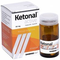 Ketonal active 50 mg x 10 kaps