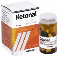 Ketonal active 50 mg x 20 kaps