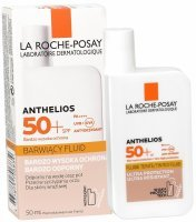 La Roche-Posay Anthelios barwiący fluid do twarzy spf50+ 50 ml