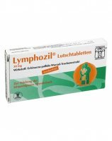 Lymphozil 30 mg x 20 pastylek do ssania