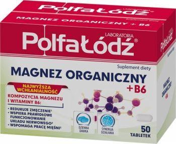 Magnez organiczny b6 x 50 tabl polfa d apteka for Magnez w tabletkach