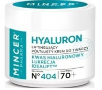Mincer Pharma Hyaluron 70+ - liftingujący półtłusty krem do twarzy 50 ml