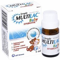 Multilac  Baby synbiotyk krople 5 ml