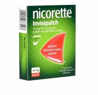 Nicorette invisipatch plastry 10mg/16h x 7 szt