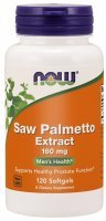 NOW Foods Saw Palmetto – ekstrakt 160 mg x 120 kaps