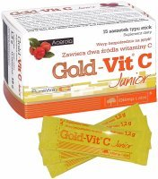 Olimp gold-vit C Junior x 15 sasz typu stick acerola