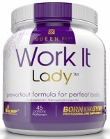 Olimp Queen Fit Work It Lady smak pomarańczowy 337 g