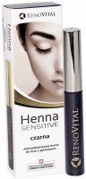 RenoVital Sensitive henna do brwi czarna 6 g