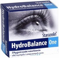 Starazolin HydroBalance One krople do oczu 0,5 ml x 12 minimsów