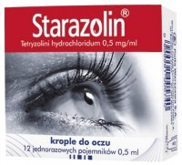 Starazolin krople do oczu 0,5 mg/ml  x 12 minimsów