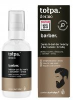 Tołpa dermo men barber balsam - żel do twarzy z zarostem i brodą 75 ml